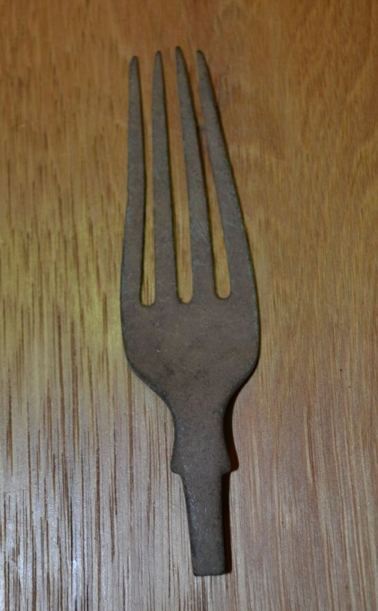 Fork from Fort Amiel, Newcastle