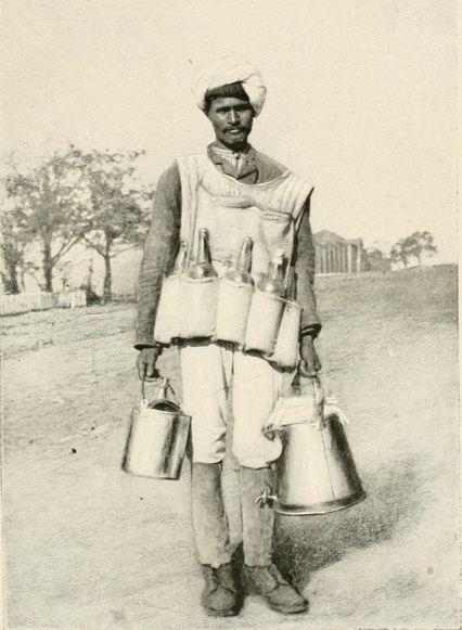 An Indian Milkman, Durban
