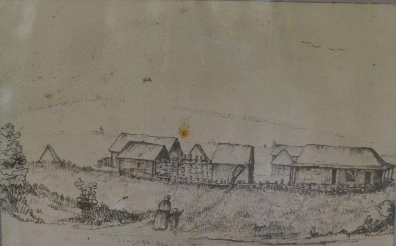Congella Camp, 1843, Bay of Natal, Durban