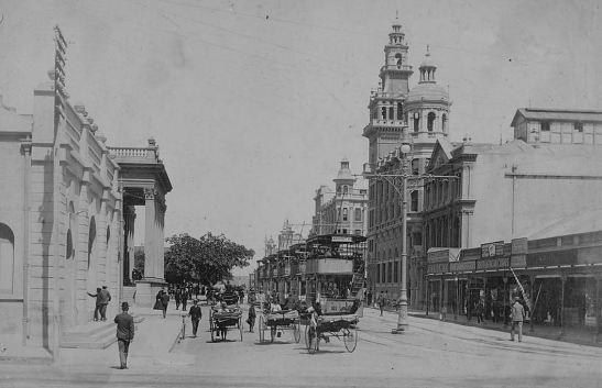 Gardiner Street, 1905, Durban