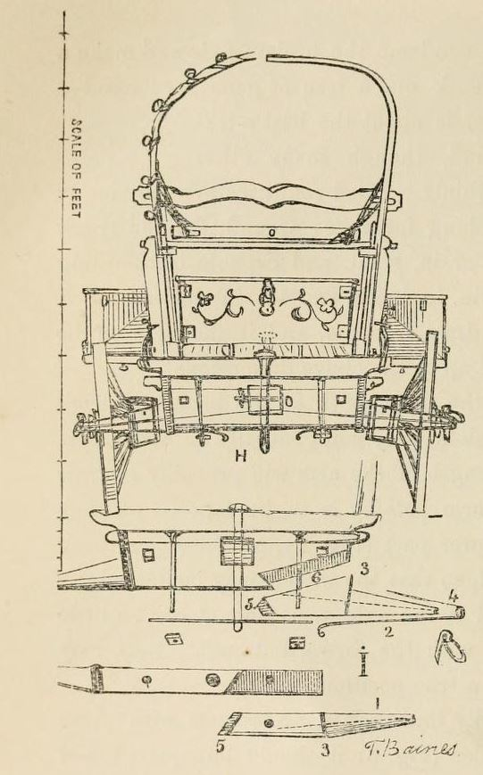 Thomas Baines, cape wagon
